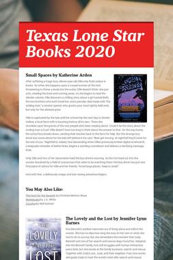 Texas Lone Star Books 2020