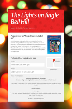 The Lights on Jingle Bell Hill