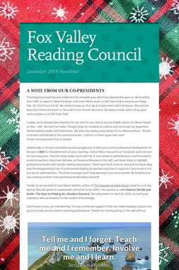Fox Valley Reading Council