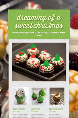 dreaming of a sweet christmas