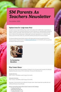 SM Parents As Teachers Newsletter