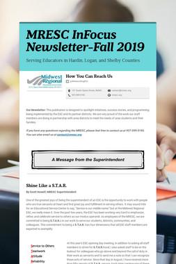 MRESC InFocus Newsletter-Fall 2019