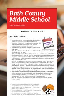 Bath County Middle School
