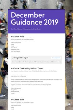 December Guidance 2019