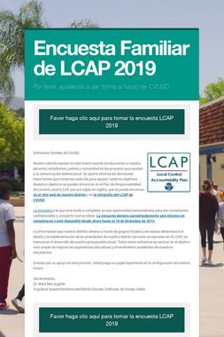 Encuesta Familiar de LCAP 2019