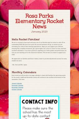 Rosa Parks Elementary Rocket News