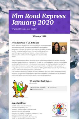 Elm Road Express      January 2020