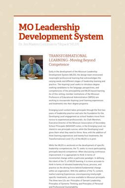 MO Leadership Development System