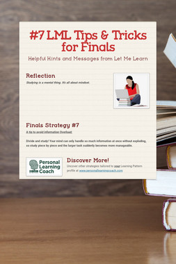 #7 LML Tips & Tricks for Finals
