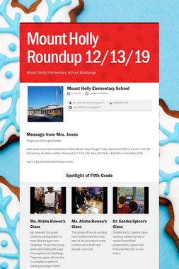 Mount Holly Roundup 12/13/19