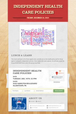 Independent Health Care Policies