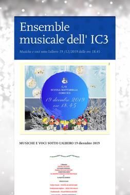 Ensemble musicale dell' IC3