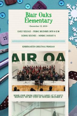 Blair Oaks Elementary