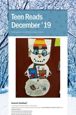 Teen Reads  December '19