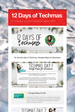 12 Days of Techmas