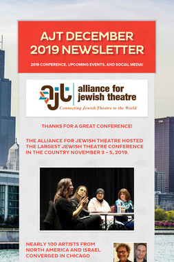 AJT December 2019 Newsletter