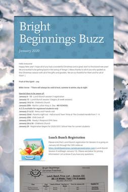 Bright Beginnings Buzz
