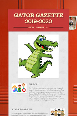 Gator Gazette  2019-2020