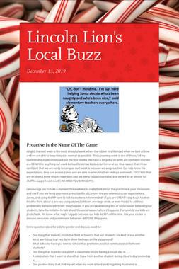 Lincoln Lion's Local Buzz