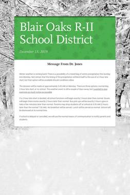 Blair Oaks R-II School District