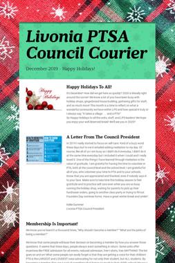 Livonia PTSA Council Courier