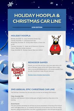 Holiday Hoopla & Christmas Car Line