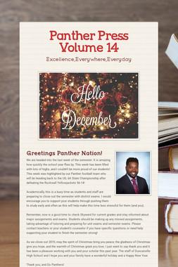 Panther Press Volume 14