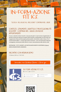 IN-FORM-AZIONE FIT IC3.