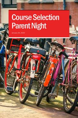 Course Selection Parent Night