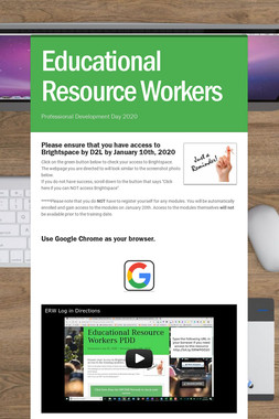 Educational Resource Workers