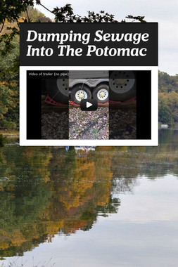 Dumping Sewage Into The Potomac