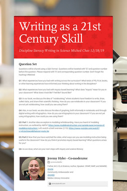 Writing as a 21st Century Skill
