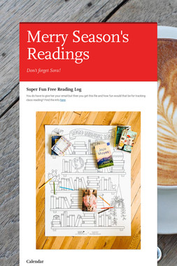 Merry Season's Readings