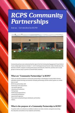RCPS Community Partnerships