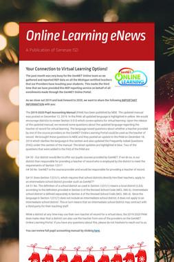 Online Learning eNews
