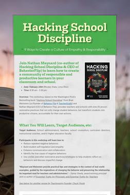 Hacking School Discipline