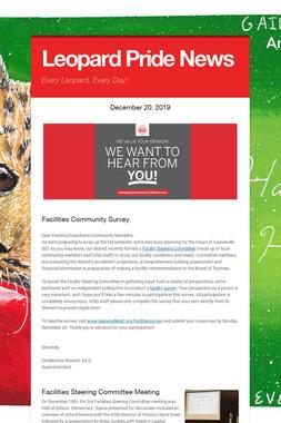 Leopard Pride News