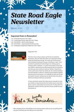 State Road Eagle Newsletter