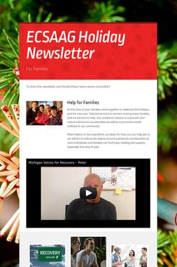 ECSAAG Holiday Newsletter