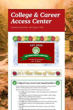 College & Career Access Center