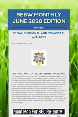 SEBW Monthly June 2020 Edition