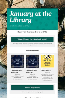 January at the Library