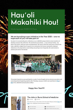 Hauʻoli Makahiki Hou!