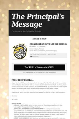 The Principal's Message