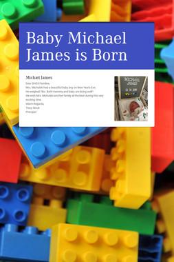 Baby Michael James is Born