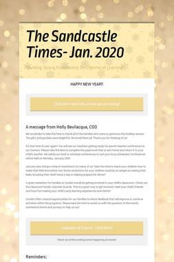 The Sandcastle Times- Jan. 2020