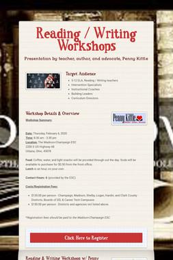 Reading / Writing Workshops