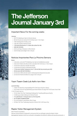 The Jefferson Journal January 3rd