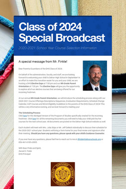Class of 2024 Special Broadcast
