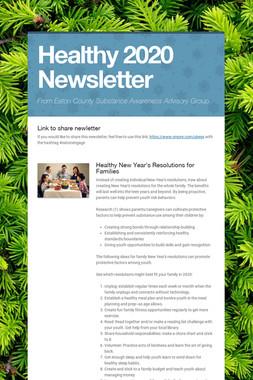 Healthy 2020 Newsletter